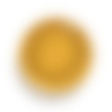 Ottolenghi Assiette XS Sunny Yellow Swirl-Dots Noir Feast  X4