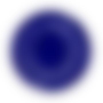 Assiette De Service Lapis Lazuli Swirl-Dots Blanc Feast