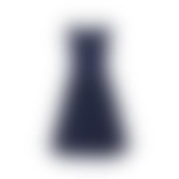 Abigal Dress Navy Pin Dot