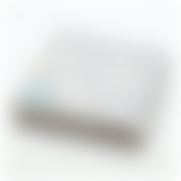 Grande couverture grise Portolan 160 X 200 cm