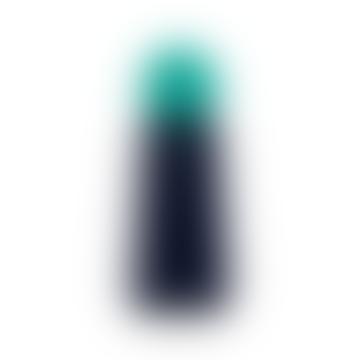 Skittle Bottle Mini 300ml Indigo and Turquoise