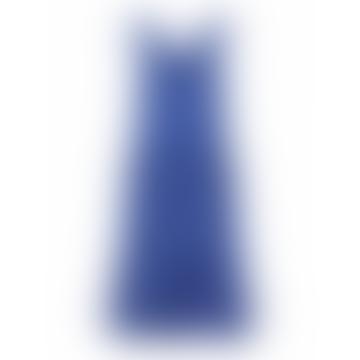 Pieces Tove Sleeveless Midi Dress Deep Ultramarine