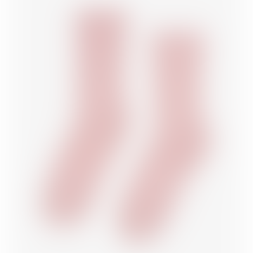 Hellrosa Bio-Baumwolle Kniestrümpfe Faded Pink