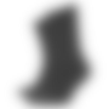 Hohe graue Bio-Lava-graue Baumwoll-Tintensocken