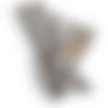 Linen Guest Towel in Misty Stripe