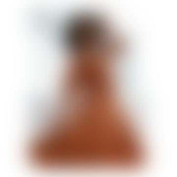 The Kasey Midi Dress In Maple