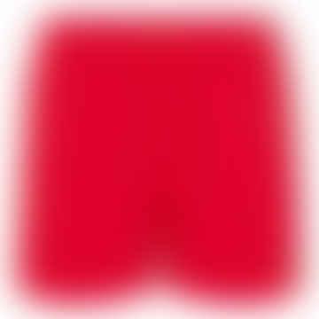 Slim Fit Swim Shorts Primary Red