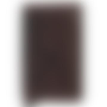 Chocolate Cow Leather Vintage Slimwallet