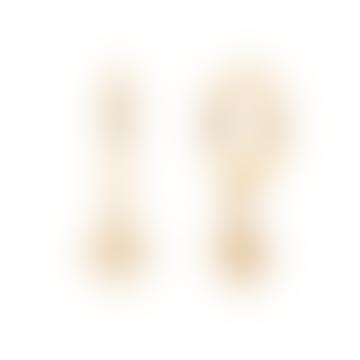 Sirius Earrings Gold