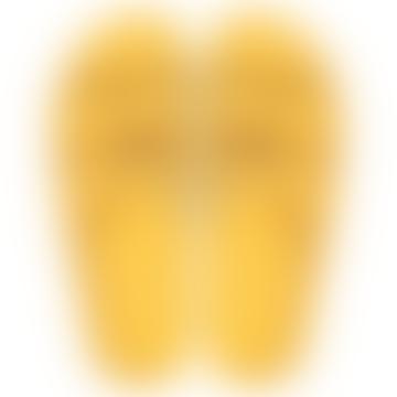 Florianopolis Sandals Mustard Studded
