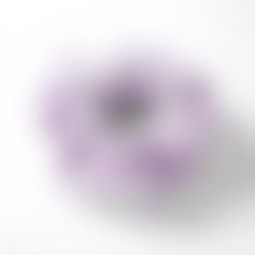 Scrunchie Lilac Check