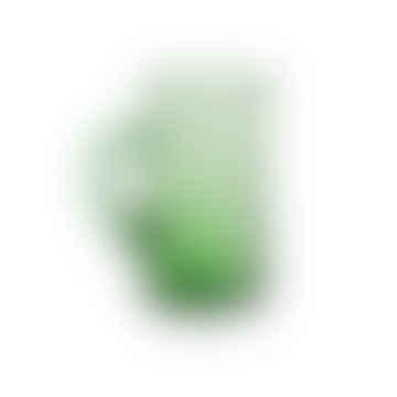 Grüner hoher recycelter marokkanischer Beldi Krug