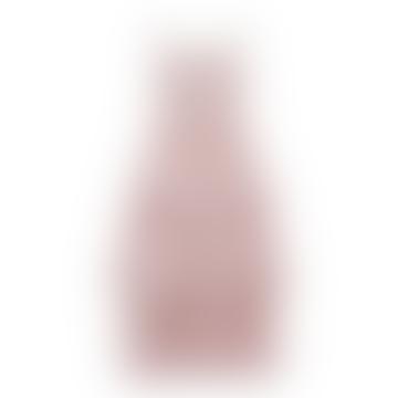 Point Jacqaurd Tiered Midi Dress Cherry Blossom
