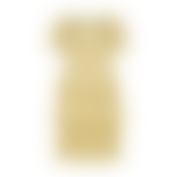 Deuce Floral Tiered Midi Dress Yellow Iris