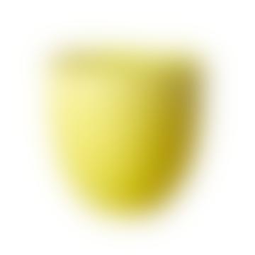 Metal Plant Pot in Yellow