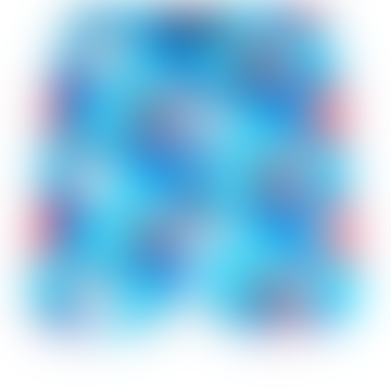 Moorea Swim Short Mappemonde Dots 360 Light Azure & Blue