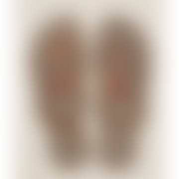 Shibli Ssr Beaded Sandal I Red Mix