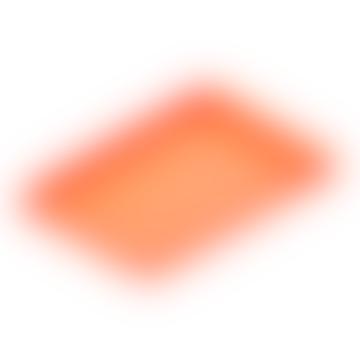 Torei Grosses Tablett Orange