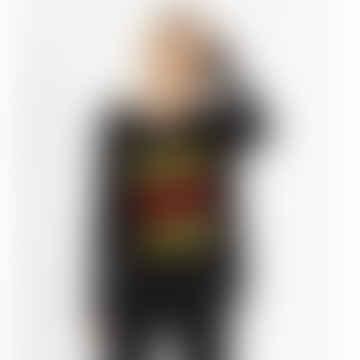 Cashmere Black Blah Blah Blah Sweater