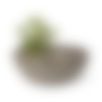 Straw Vase Large Stone Stripe