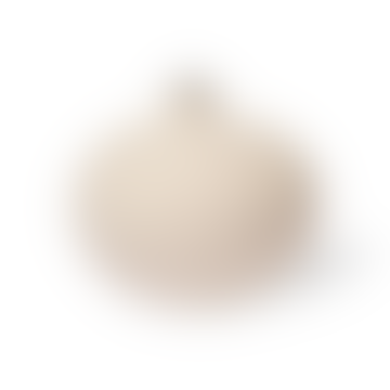 Bari Vase Light Sand Medium