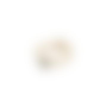Kira Adjustable Ring Labradorite