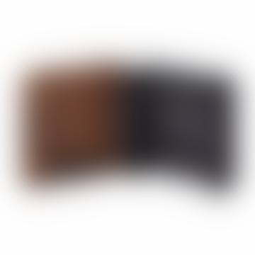 Rin Steel Key Box In Black With Dark Wood Door
