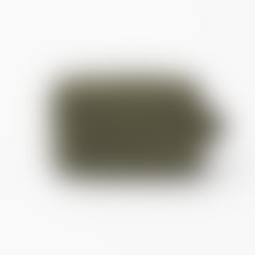 Trousse de Toilette Blondel en Nylon Upcyclé Vert Olive
