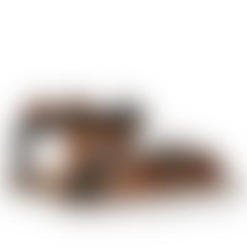 Abel Sandals Pixel Black