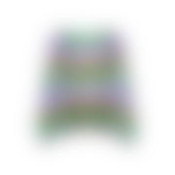 Filuca Stripe Knit Lavender Cardigan