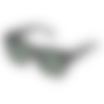 Total Eclipse Polorized Black W/ Khaki Mono Sunglasses
