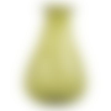Luni Vase Recycled Glass Jade
