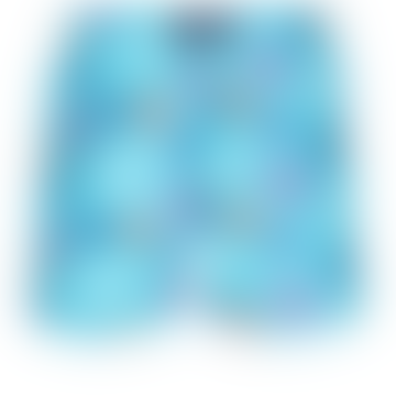 Moorea Swim Short Ronde des Tortues Indies Lazuli Blue
