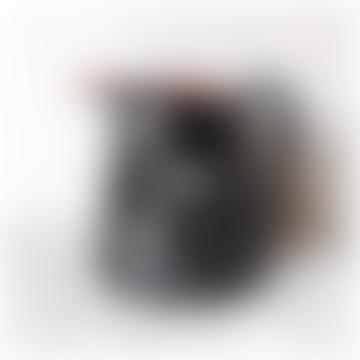 Black Jug With White Splashes