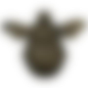 Brass Finish Heritage BRASS003 Bumble Bee Door Knocker