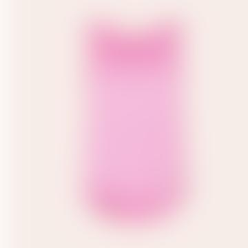 Astrid Silk Tank Top - Bubble Pink