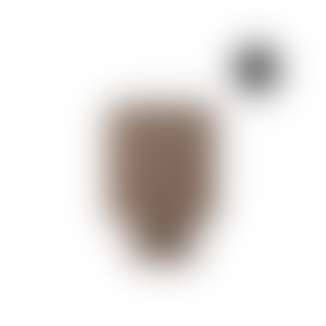 Matt Taupe Desert Urn Style Pot