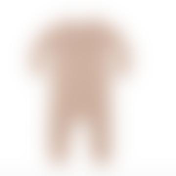 Petal Pointelle Long Sleeve Jumpsuit