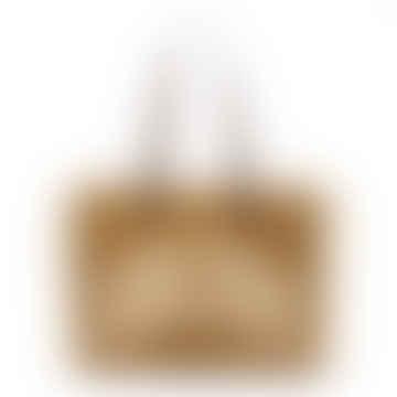 "California Bag ""Golden"" Merino and Suede Body"
