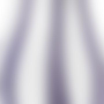 Orchid Light Purple Ada Stripe Mouthblown Vase