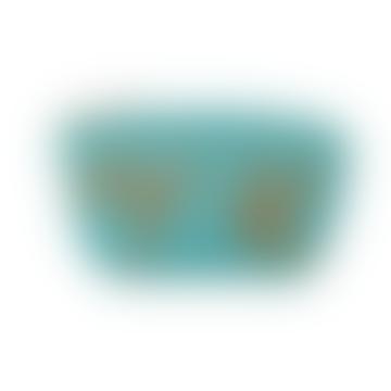 Hummingbird Turquoise Coin Purse