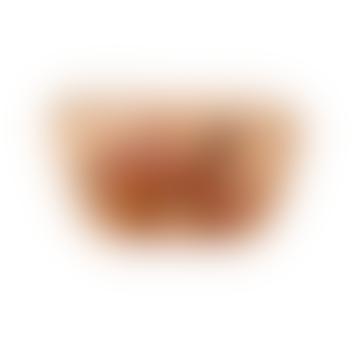 Apricot Tiger Velvet Coin Purse
