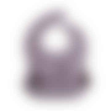 Silicone Bib Pale Mauve