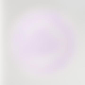 Deja la bandeja grande de madera contrachapada lila