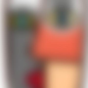 Kleine Abstraso Maske Nr. 7 Wanddeko