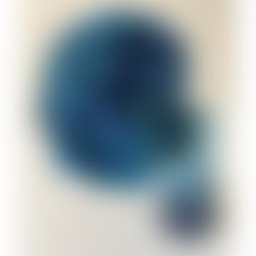Blue Hydrangea Preserved Flowers Deco