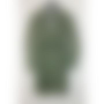 Mini vestido camisero con cuello abierto