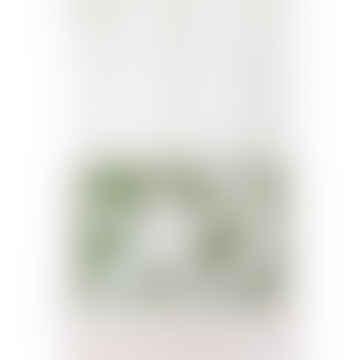 Impresión de la suerte A3 verde helecho