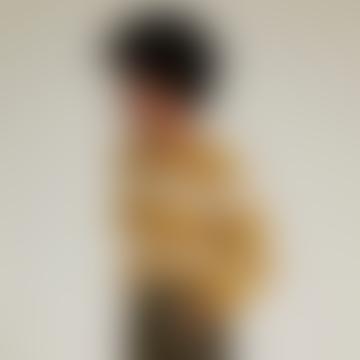 Joan Jumper Mustard Stripe