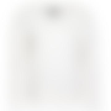 Chequer Overlayer Sweatshirt Frost
